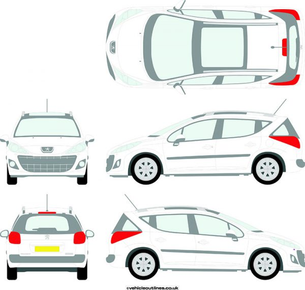 Cars Peugeot 207sw 2010-13