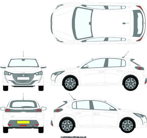 Cars Peugeot 208 2019-21