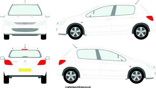 Cars Peugeot 307 2001-07