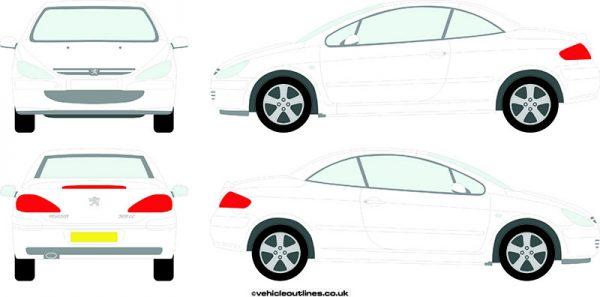 Cars Peugeot 307cc 2003-09