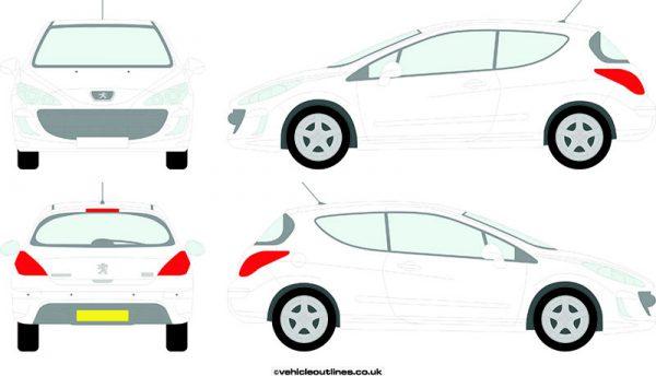 Cars Peugeot 308 2007-14