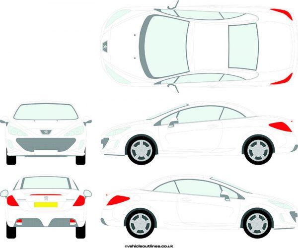 Cars Peugeot 308 2009-14