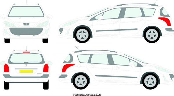 Cars Peugeot 308 2008-14