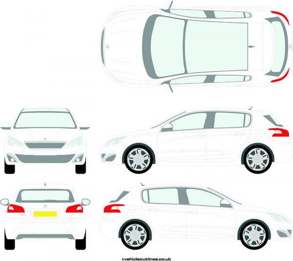 Cars Peugeot 308 2014-21