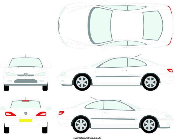 Cars Peugeot 406 1997-2003