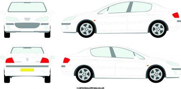 Cars Peugeot 407 2004-10