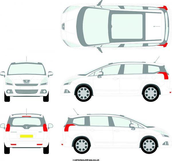 Cars Peugeot 5008 2009-18
