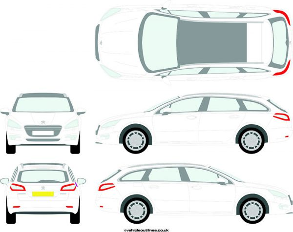 Cars Peugeot 508 2010-18