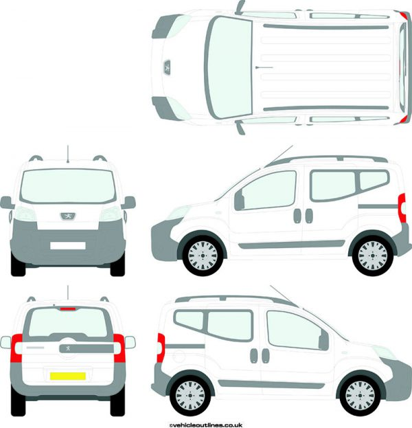 Cars Peugeot Bipper 2010-20