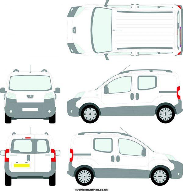 Cars Peugeot Bipper 2010-19