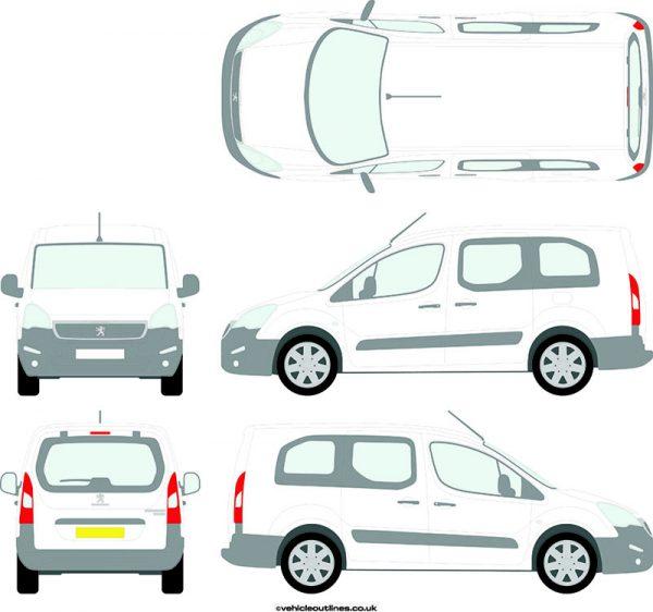 Cars Peugeot Partner 2015-19