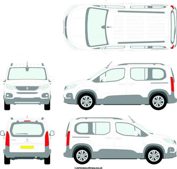 Cars Peugeot Rifter 2018-21