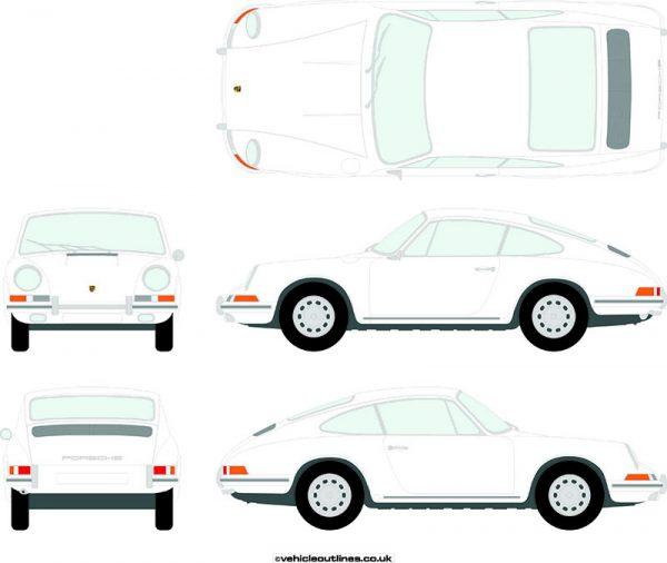 Cars Porsche 911 1963-72