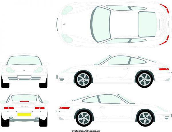 Cars Porsche 911 1998-2005