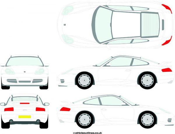 Cars Porsche 911 1999-2003
