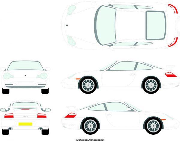 Cars Porsche 911 2004-05
