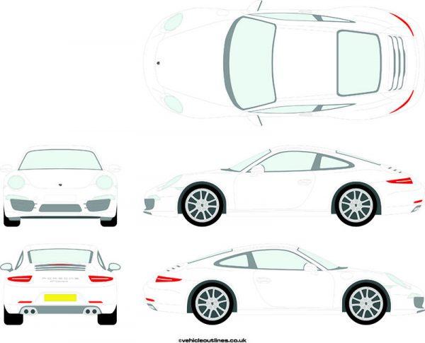 Cars Porsche 911 2012-16