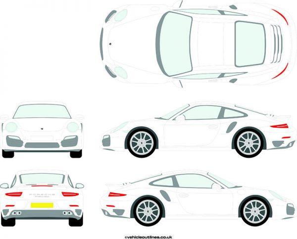 Cars Porsche 911 2014-16