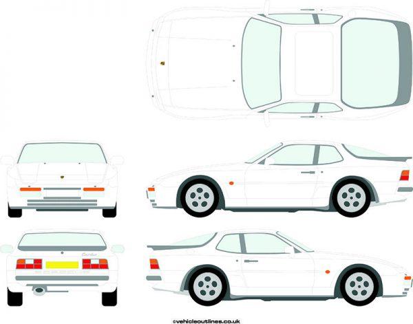 Cars Porsche 944 1982-92