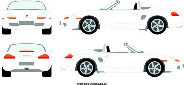Cars Porsche Boxster 1996-2004