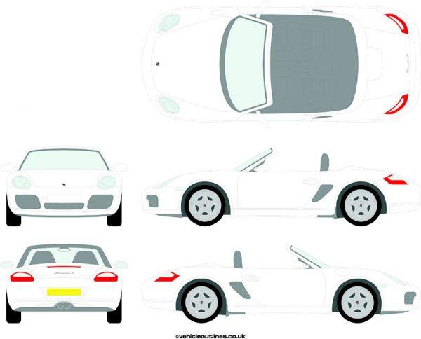 Cars Porsche Boxster 2005-12