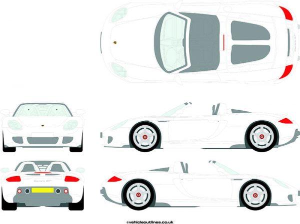 Cars Porsche Carrera 2003-07