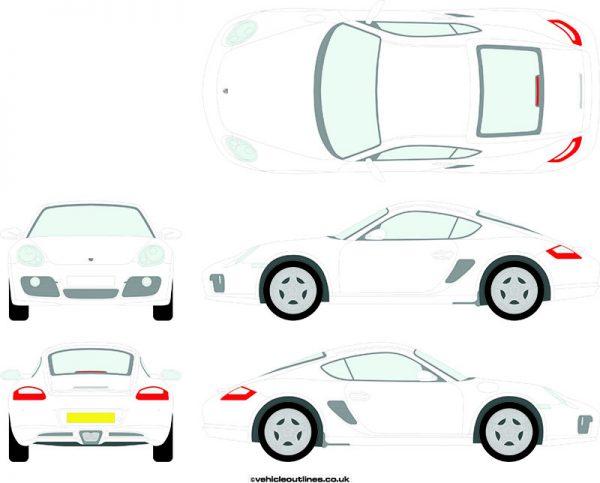Cars Porsche Cayman 2005-12
