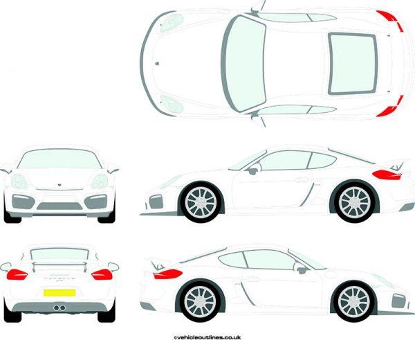 Cars Porsche Cayman 2015-21