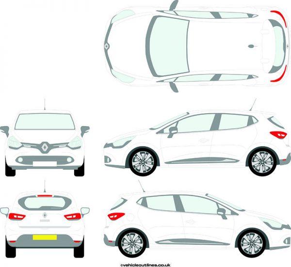 Cars Renault Clio 2013-17