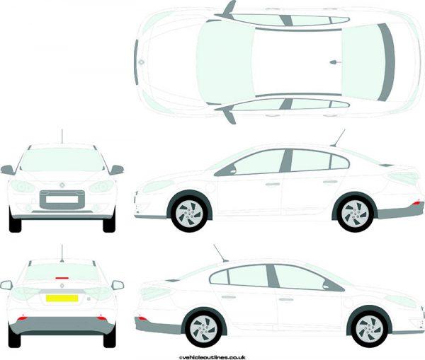 Cars Renault Fluence 2010-21