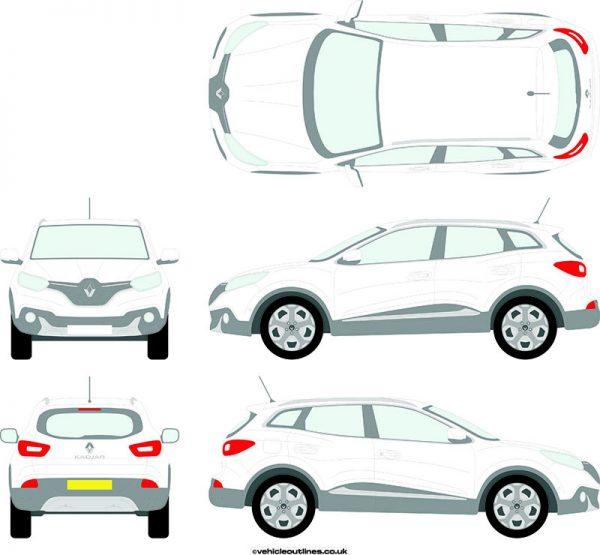 Cars Renault Kadjar 2015-21