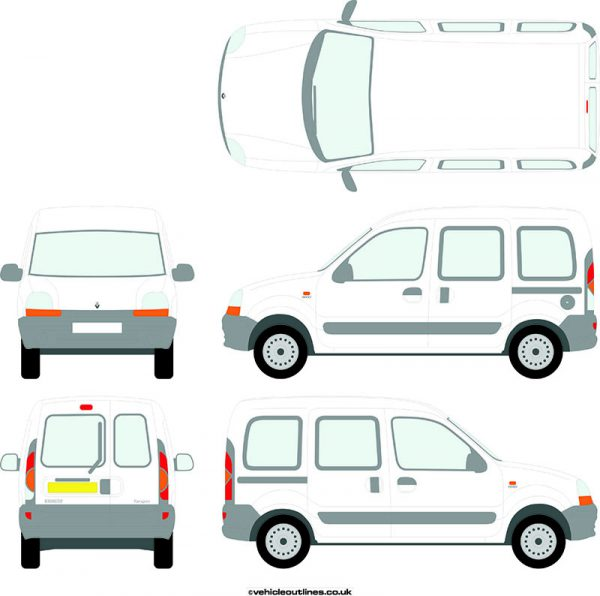 Cars Renault Kangoo 1999-2006