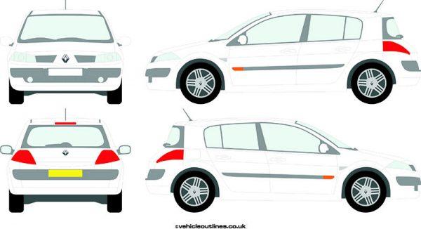 Cars Renault Megane 2003-09