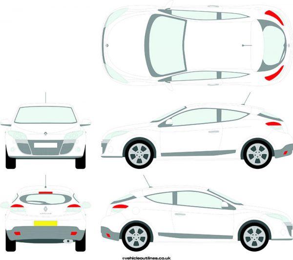 Cars Renault Megane 2009-14