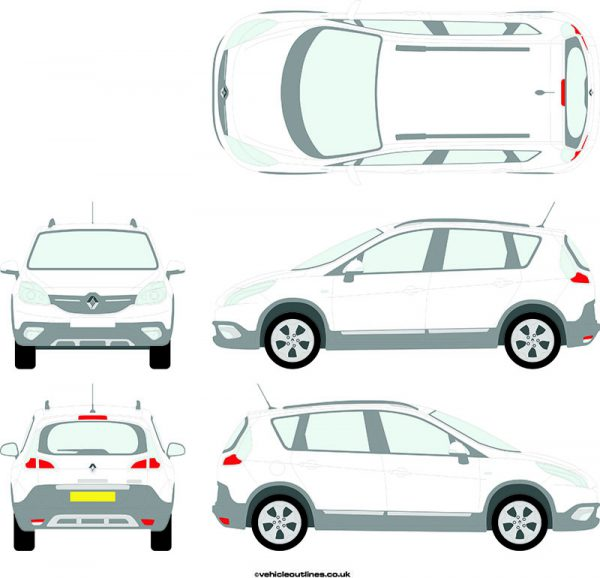 Cars Renault Scenic 2013-21