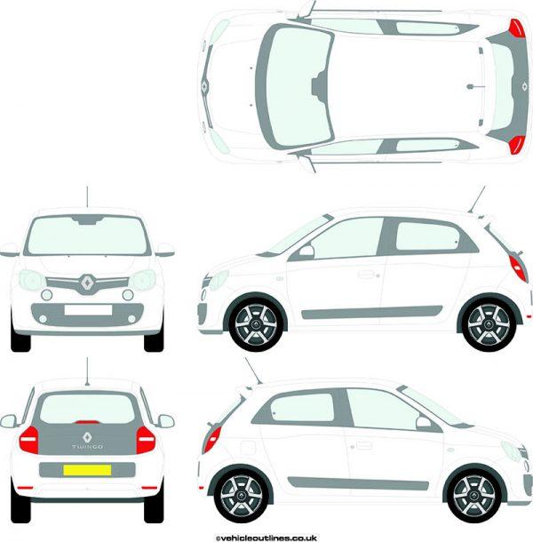 Cars Renault Twingo 2014-21