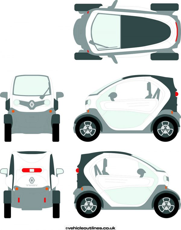 Cars Renault Twizy 2012-21