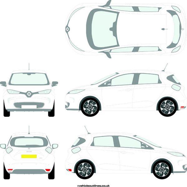 Cars Renault Zoe 2013-21