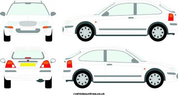 Cars Rover 25 1999-2005