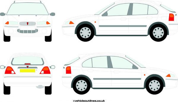 Cars Rover 200 Series 1992-98