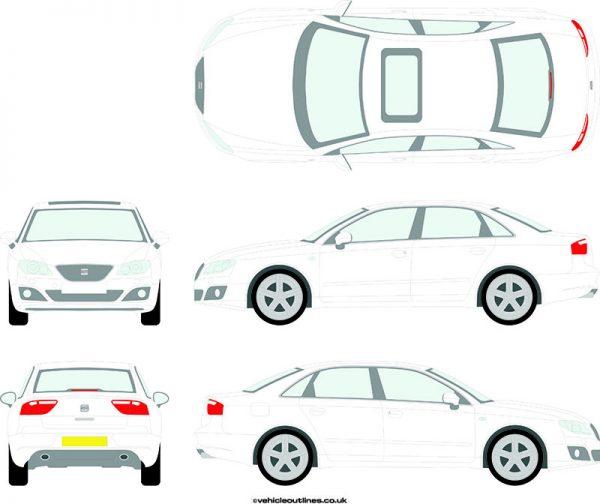 Cars Seat Exeo 2009-13