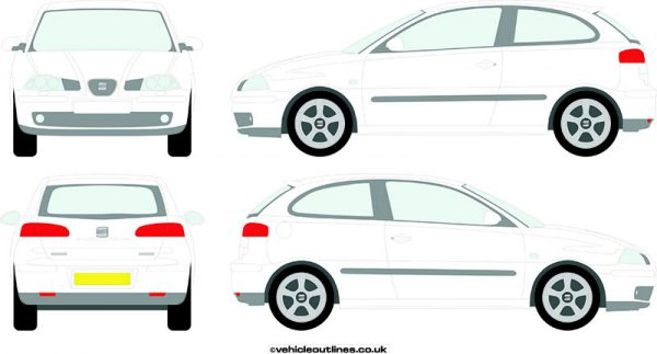 Cars Seat Ibiza 2002-06