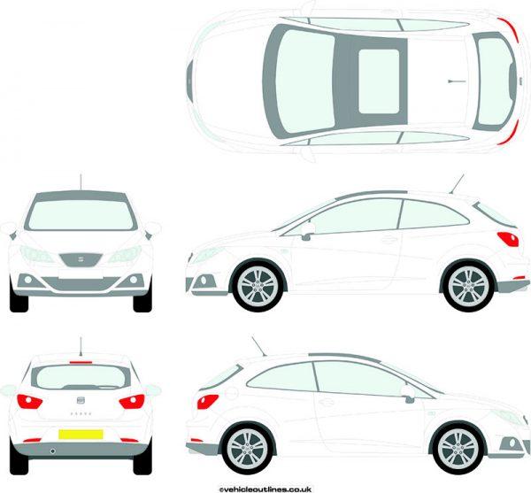 Cars Seat Ibiza 2008-17