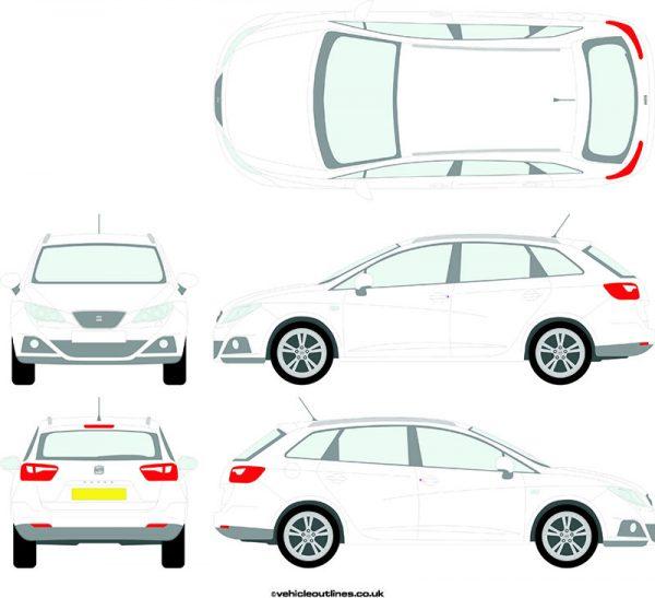 Cars Seat Ibiza 2009-17