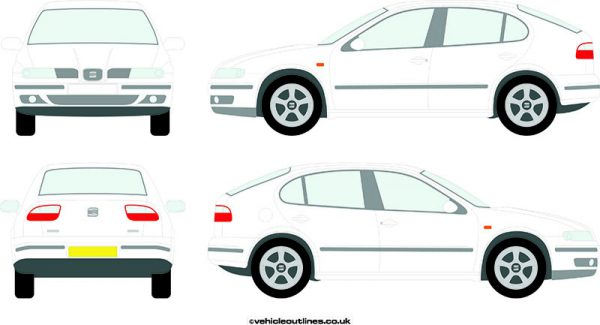 Cars Seat Leon 2000-06