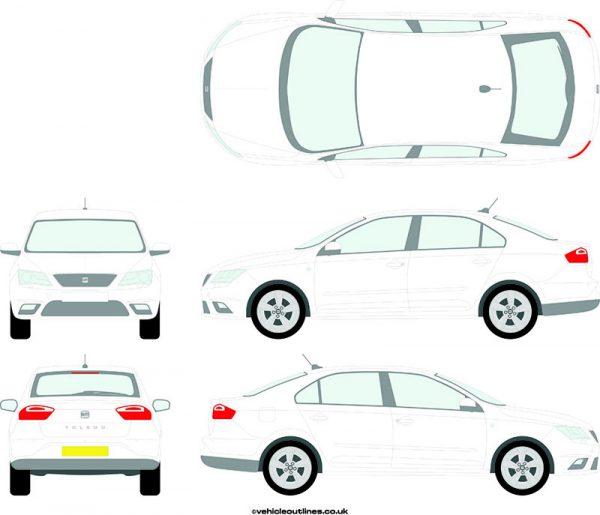 Cars Seat Toledo 2013-18