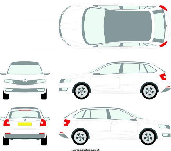Cars Skoda Rapid 2013-17