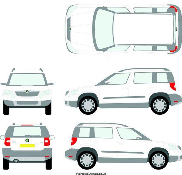 Cars Skoda Yeti 2009-13