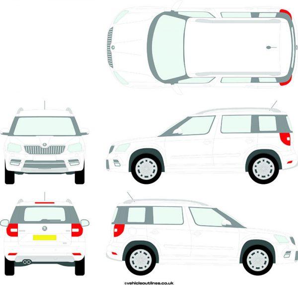 Cars Skoda Yeti 2013-21
