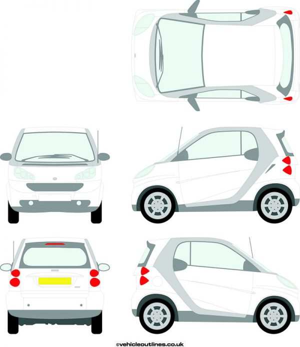 Cars Smart Car Coupe 2007-13